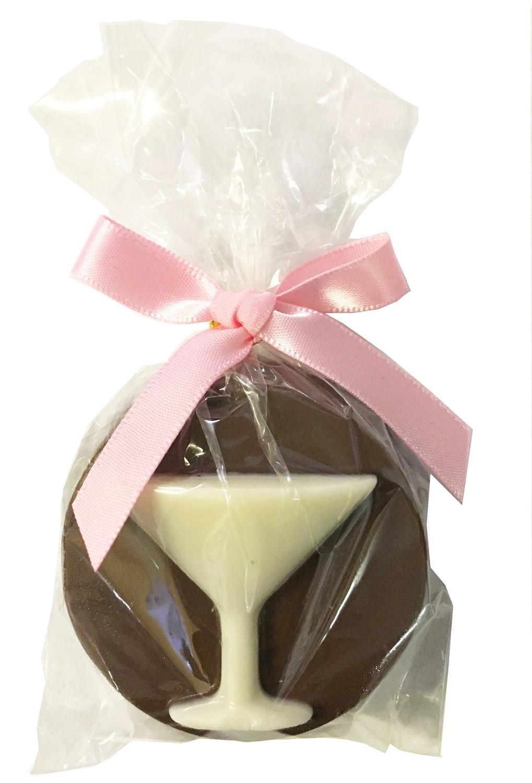 Gourmet Chocolate Molded Oreos® (Martini Glass)