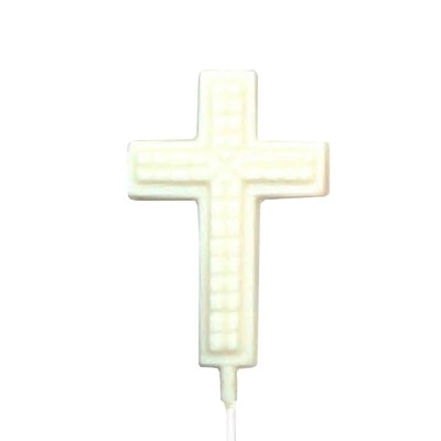 Chocolate Lollipops - Pollylops® - Cross with Prism