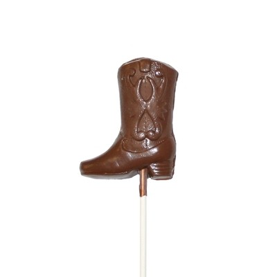 Chocolate Lollipops - Pollylops® - Cowboy Boot