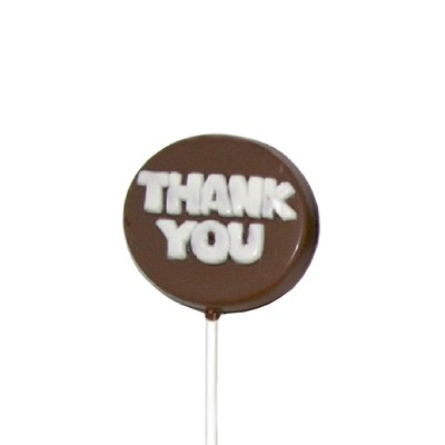 Chocolate Lollipops - Pollylops® - Thank You