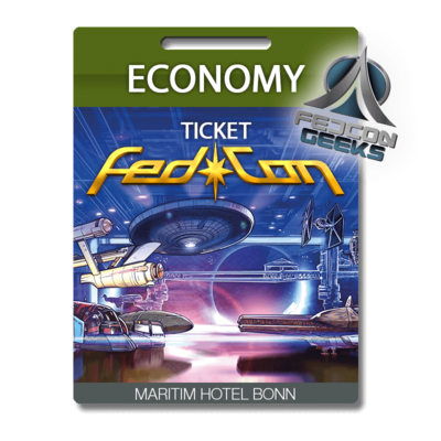 FedCon Economy-Ticket GEEK