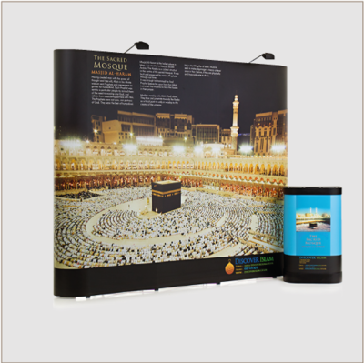 Impact Straight 3x3 Pop up Display (Rigid Panels)
