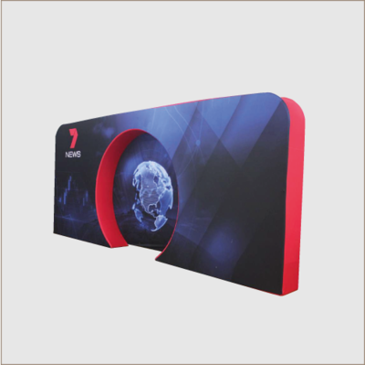 3d Fabric Display Stand (C)