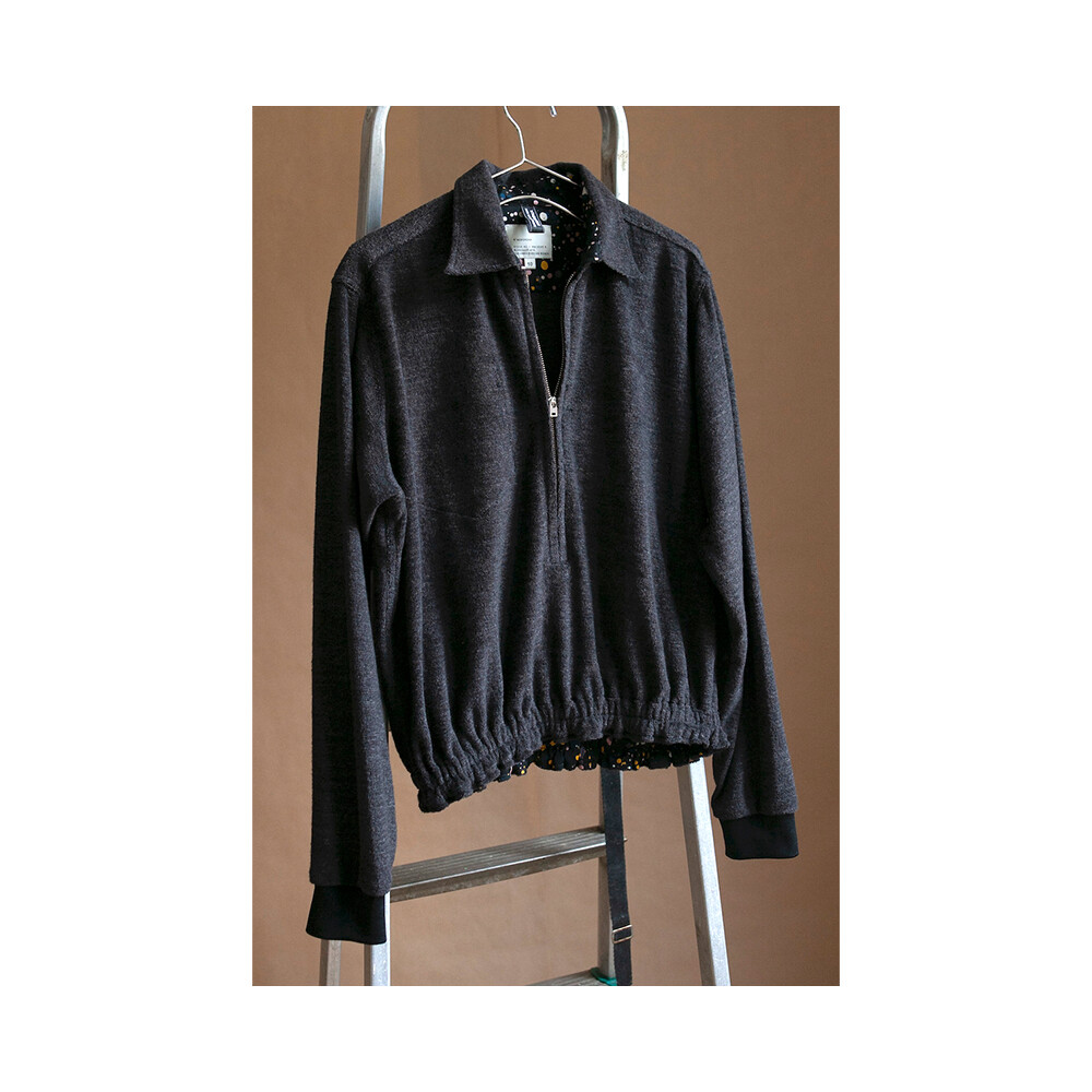W'MENSWEAR OPERATIONS SHIRT IN CHARCOAL