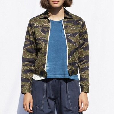 W'MENSWEAR ENGINEER'S JACKET IN CAMO