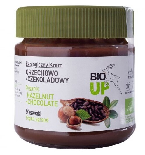 Organic Hazelnut and Chocolate Spread! 190g!