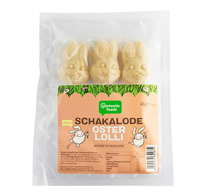 White Chocolate Easter Lollies!