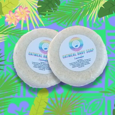 Oatmeal Baby Soap with Lavender
