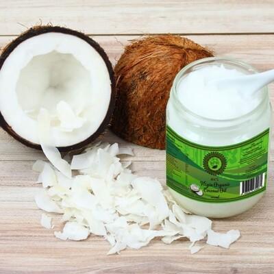 Raw Virgin Organic Coconut Oil 400ml Jar