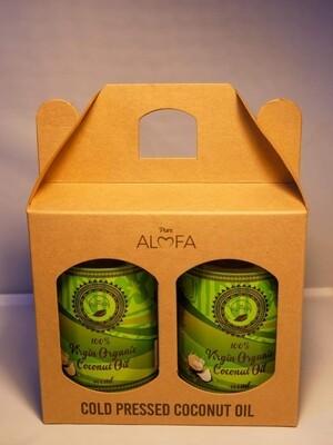 Raw Virgin Organic Coconut Oil Twin Pack