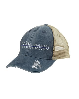 The Mark Wandall Foundation Rhinestone Hat