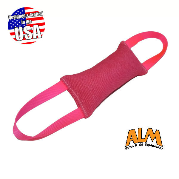 """12"""" x 3.5"""" Pink tug with 2 Pink Handles"""
