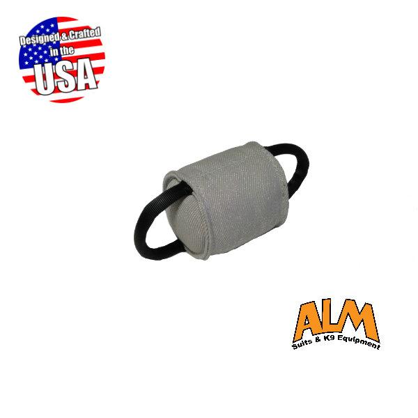Mini Round Pillow with 2 Tubular Handles