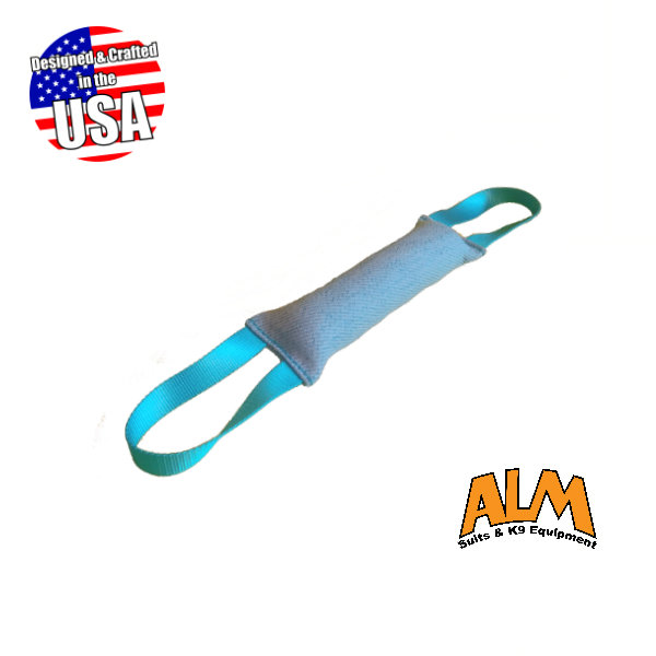 """10"""" x 2.5"""" Baby Blue Tug with 2 Baby Blue Handles"""