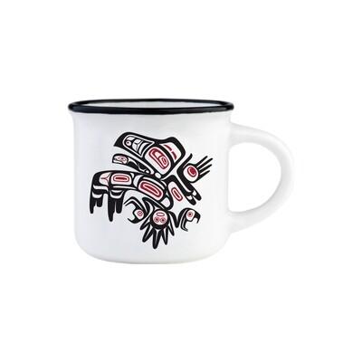 Espresso Mug - Running Raven