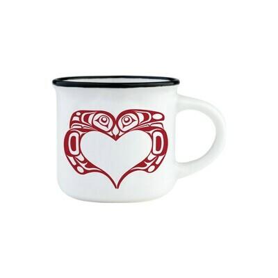 Espresso Mug - Love Birds
