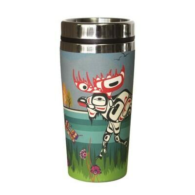 Bamboo Travel Mug - Moose