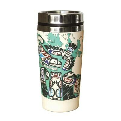 Bamboo Travel Mug - Indigenous Canada