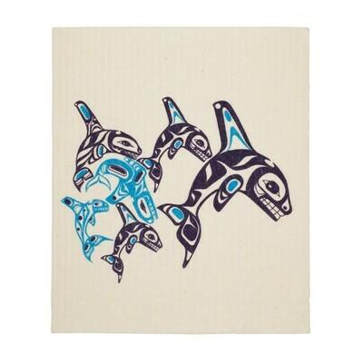 Eco Cloth - Orca Family