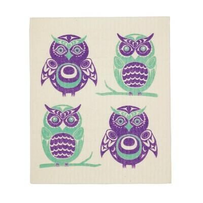 Eco Cloth - Owls