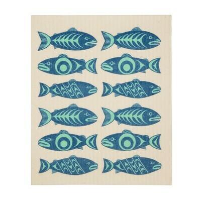 Eco Cloth - Salmon in the Wild