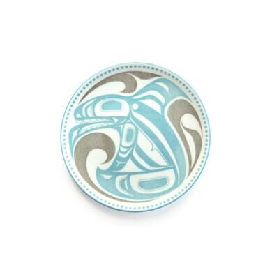 Porcelain Art Plate - Killer Whale