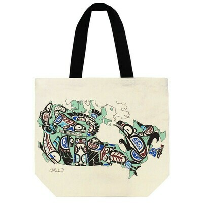 Canvas Tote - Indigenous Canada