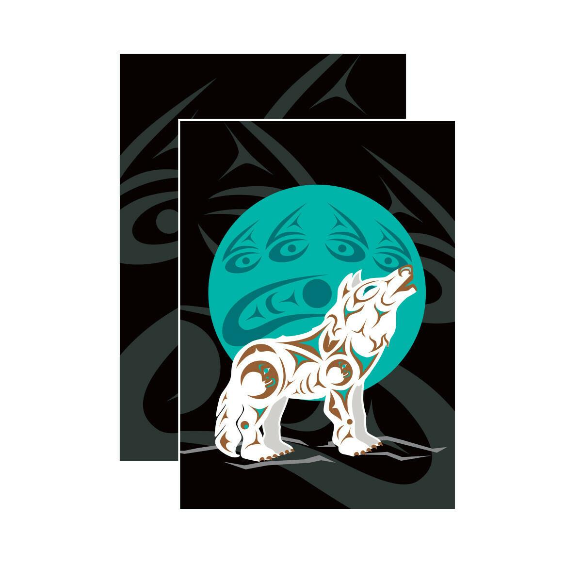 Notebook - Howling Wolf