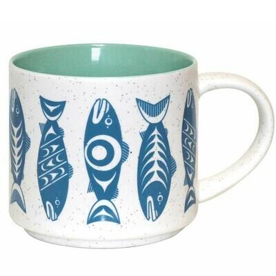 Ceramic Mug - Salmon In the Wild