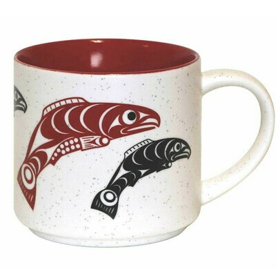 Ceramic Mug - Salmon