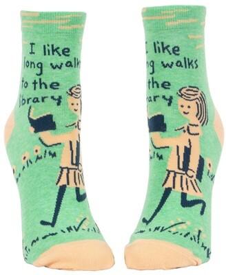 I Like Long Walks to the Library