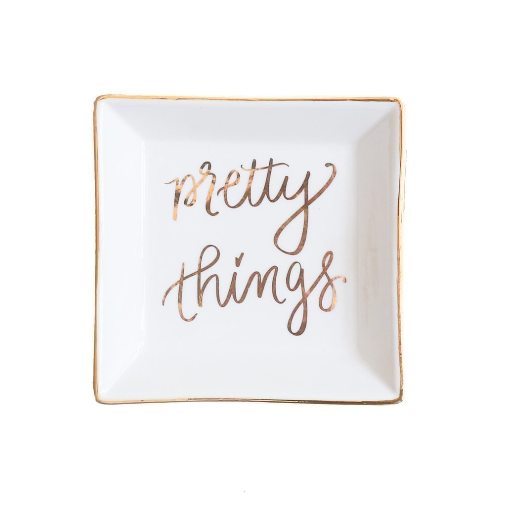 Pretty Things Jewelry Dish UPHG001-SWDJD-PT