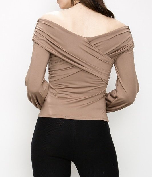 Back View Taupe