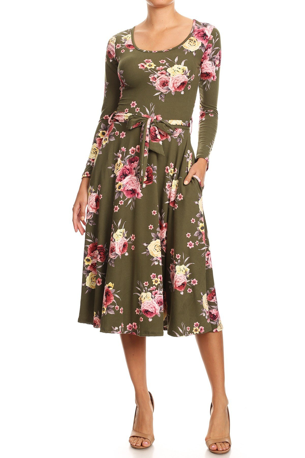 Floral Swing Dress UPDR644-FLORALSWING