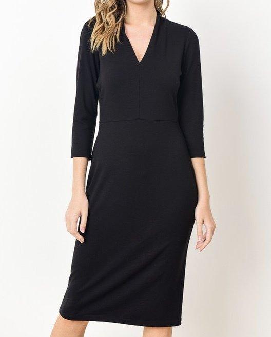 Sandra V-Neck Dress UPDR629-SANDRA