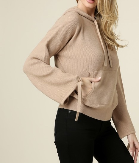 Vanilla Latte Hooded Sweater UPSW684-VANILLALATTE