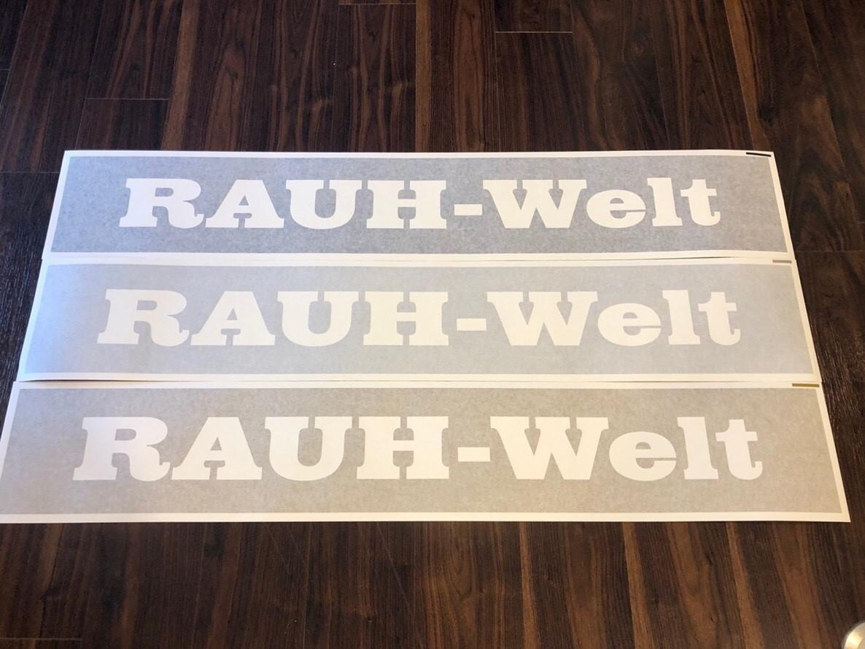 RWB Windshield sticker