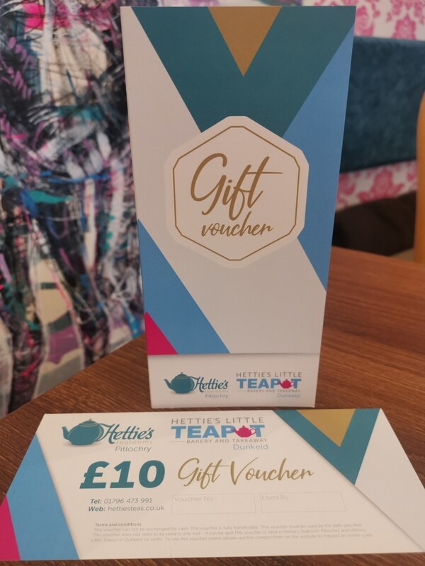 £10.00 Gift Voucher with card