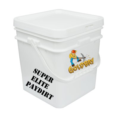 Goldbay Super Elite 1 gallon paydirt with 31 grams gold