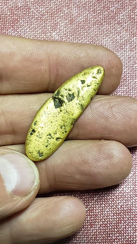 18.45 gram amazing Idaho gold nugget