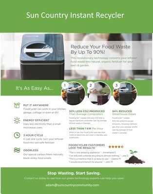 Sun Country Instant Composter Residential