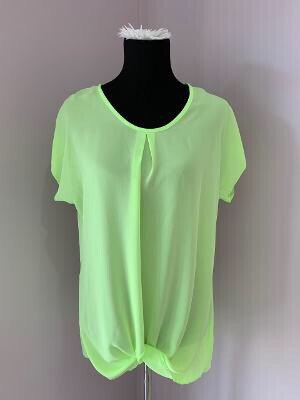 Neon Green Sheer Top