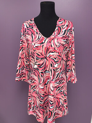 Rhonda Pink Tunic/Tunic Dress