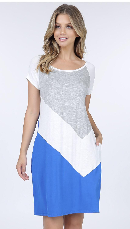 Lapis Blue Dress