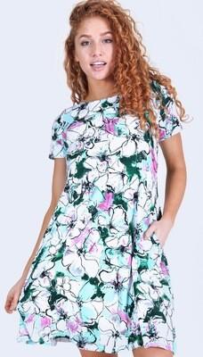 Mint Garden Dress