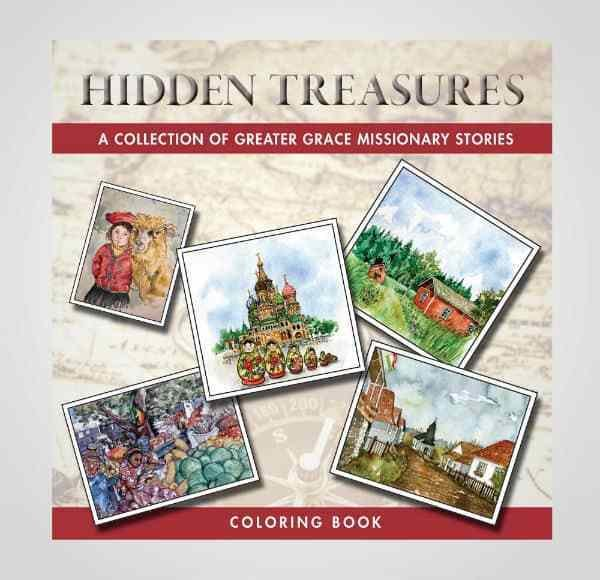 Hidden Treasures – Coloring Book