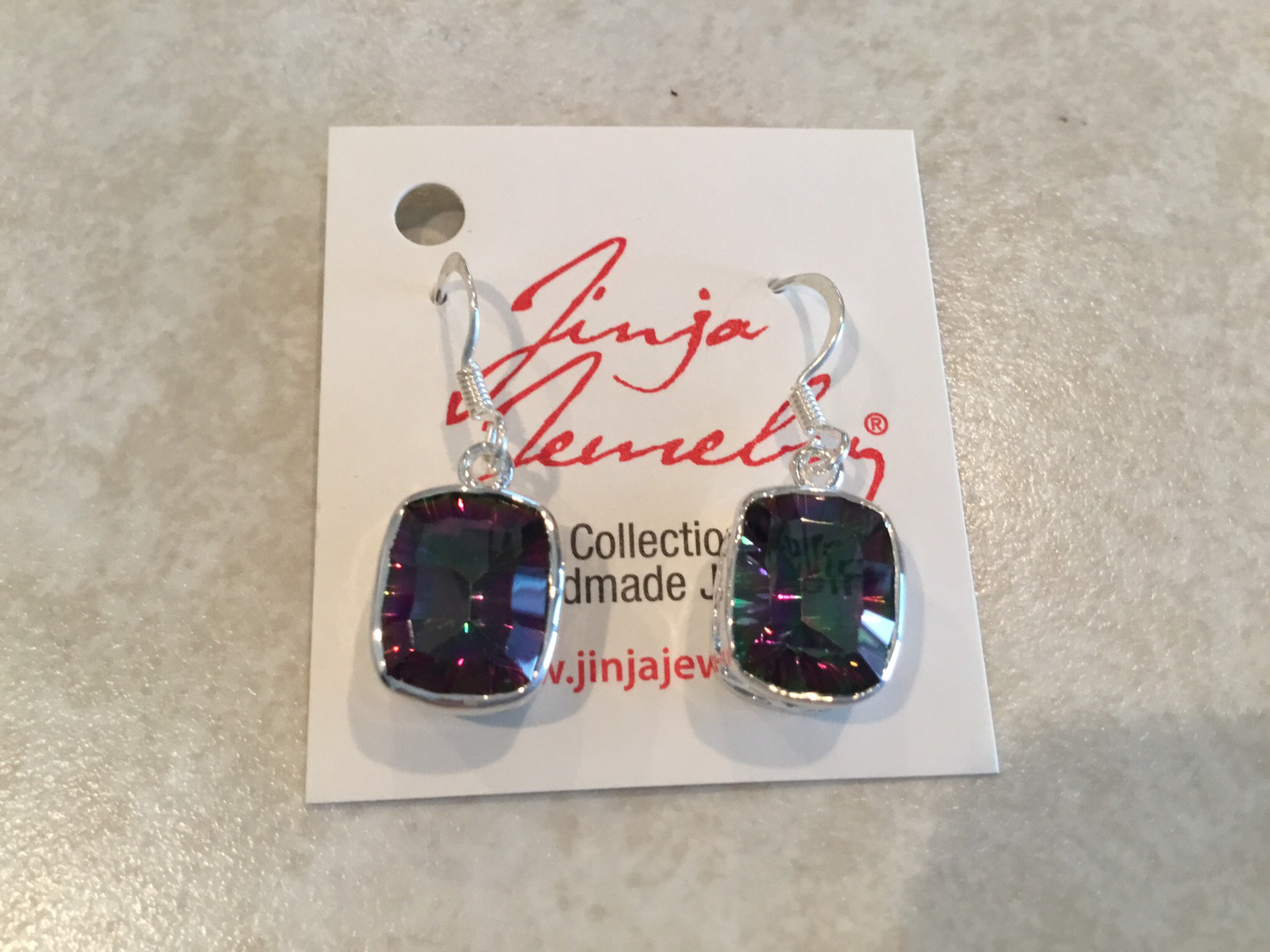 Sterling Silver Beautiful Mystic Topaz