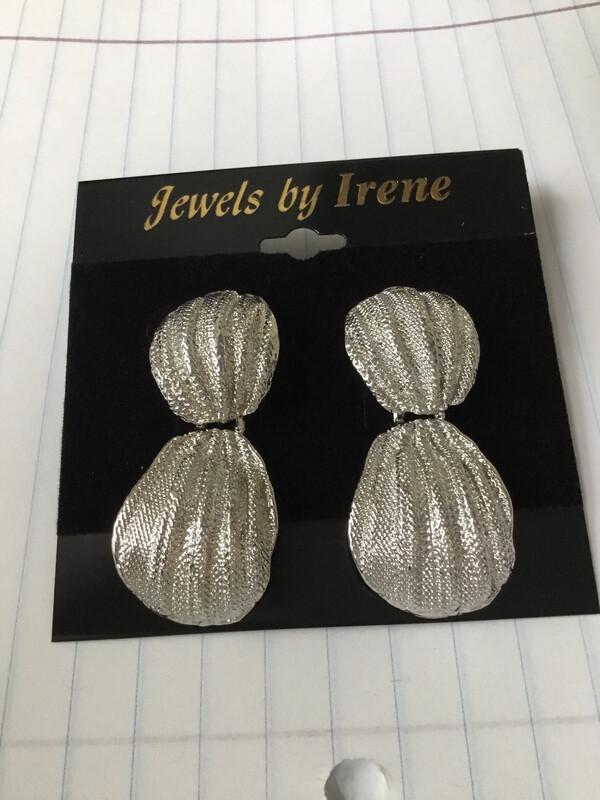 Silver Robed Earrings
