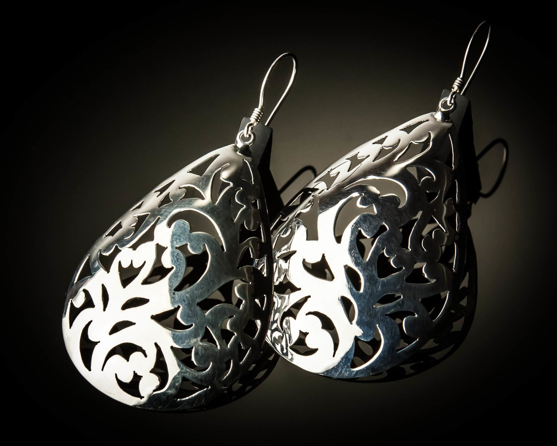 Celtic Design Sterling Silver Earrings