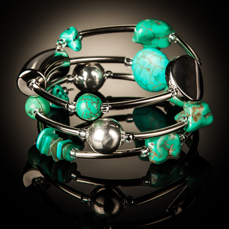 Turquoise Twist Bracelet